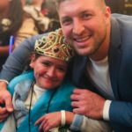 Tim Tebow at one of his foundation's Night To Shine events.